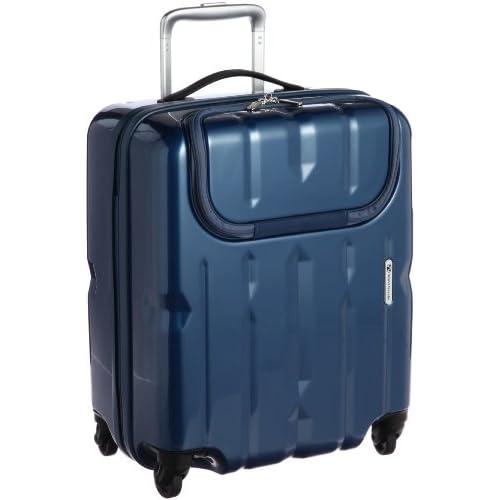 [ワールドトラベラー] World Traveler ワールドトラベラー ディラトンポケット スーツケース 46cm・40リットル・2.7kg 05807 03 (ブルー)