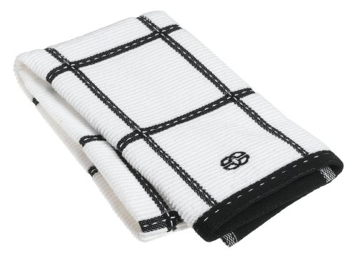 Calphalon Checked Terry Kitchen Towel, Black Licorice - Buy Calphalon Checked Terry Kitchen Towel, Black Licorice - Purchase Calphalon Checked Terry Kitchen Towel, Black Licorice (Calphalon, Home & Garden, Categories, Kitchen & Dining, Kitchen & Table Linens, Dish Cloths & Dish Towels)
