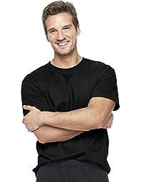Hanes Men\'s Short Sleeve Beefy-T, Black, 4X-Large