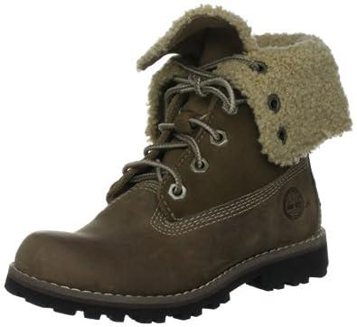 """Timberland 6"""" Shearling Classic, Unisex-Child Boots, Slate, 6 UK Child"""