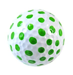 Assorted Polka Dot Designer Women's Golf Balls (6 Pack) by Navika by Navika
