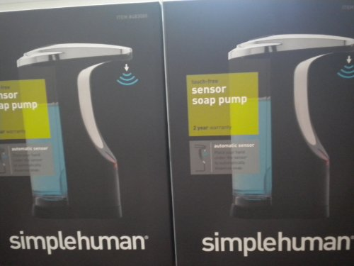 Simplehuman Kt1078 Refillable 14-ounce Motion-sensor Soap Pump(2