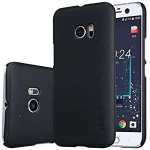Fonokase Nillkin Case Super Frosted Hard Back Cover Hard PC for HTC 10 & HTC 10 Lifestyle Black