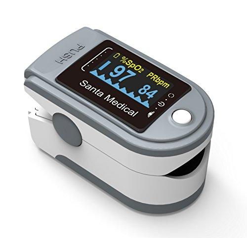 Santamedical Generation 2 SM-165 Fingertip Pulse Oximeter Oximetry Blood Oxygen Saturation Monitor...