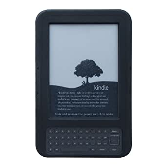 Marware SportGrip Fitted Silicone Kindle Case (Fits Kindle Keyboard), Black
