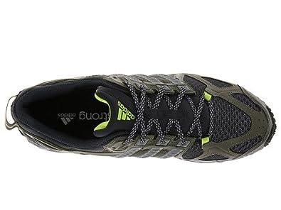 Adidas KANADIA TR 6 M Running Shoe - Earth Green/Grey - Mens - 11.5