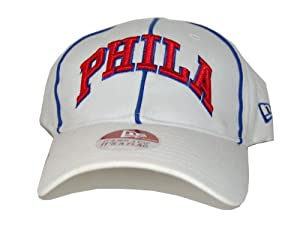 New Flex Fit New Era Philadelphia 76ersThrowback Hat Cap - Purple (2 Sizes Available) by New Era