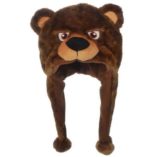 NFL Chicago Bears Thematic Mascot Dangle Hat from SteelerMania