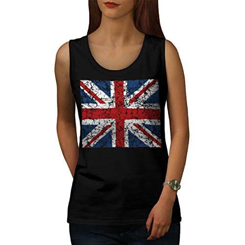 British England Flag London UK Women NEW S Tank Top | Wellcoda (British Flag Outfit compare prices)