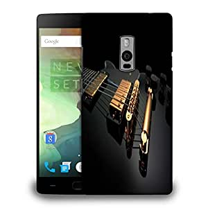 Snoogg Glod Strings Printed Protective Phone Back Case Cover Fpr OnePlus One / 1+1