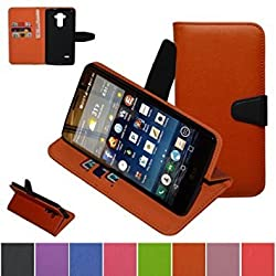 LG G4 Stylus Case ,LG G Stylo Case ,LG G4 Note LS770 Case,Mama Mouth [Stand View] Folio Flip Premium PU Leather [Wallet Case] With Built-in Media Stand ID Credit Card / Cash Slots and Inner Pocket Cover For LG G Stylo / LG G4