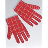 Child Spider Man Gloves-Red-Black