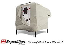 Expedition RV Trailer Cover Fits Truck Camper 10' - 12' RVs