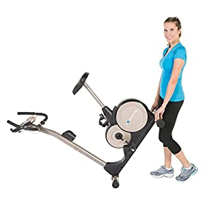 Exerpeutic 3000 Magnetic Upright Bike with MyCloudFitness App