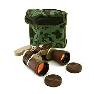 NEW BINOCULARS 10X50 CAMO RUBY LENS 10 X 50 ZOOM VISION DAY COMPACT CASE TRAVEL