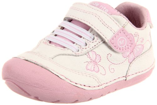 Stride Rite Srt Sm Bambi Sneaker (Infant/Toddler),White/Pink,5 W Us Toddler front-811569