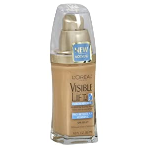 L'Oreal Paris Visible Lift Serum Absolute Advanced Age-Reversing Makeup, SPF 17, 1-Fluid Ounce