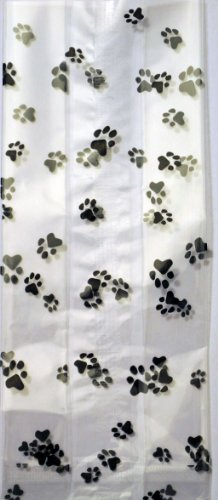 K9Cakery Paw Print Cello Treat Bags 25 Count - 1