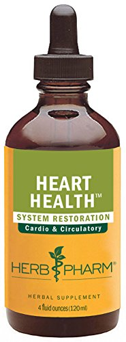 Herb Pharm Heart Health Herbal Formula with Hawthorn for Cardiovascular System Support - 4 Ounce