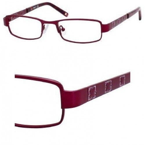 Liz Claiborne 416 Eyeglasses (0C9Y) Plum Cranberry,