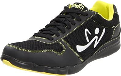 Zumba Women's Z-Kickz Dance Shoe,Black/Black,5 W US