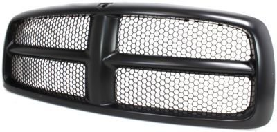 Evan-Fischer EVA17772021827 Grille Assembly Grill Plastic shell and insert Black (2004 Dodge Ram 1500 Grill compare prices)