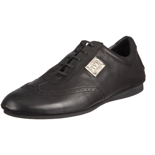 Five by Rio Ferdinand Men's Rory Black Polish Fashion Trainer RFW1011A 9 UK