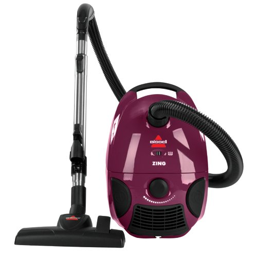 Lowest Prices! BISSELL Zing Bagged Canister Vacuum, Purple, 4122