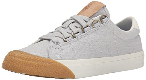 K-Swiss Women's Irvine T Athletic, Gull Gray/Marshmallow/Dark Gum, 8 M US