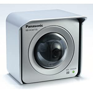 Panasonic BB-HCM735A - Network camera - PTZ - splash-resistant - color ( Day&Night ) - optical zoom: 2 x - audio - 10/100 - SD - DC 12 V / PoE