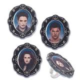 Twilight Movie Photo Print Cupcake Rings