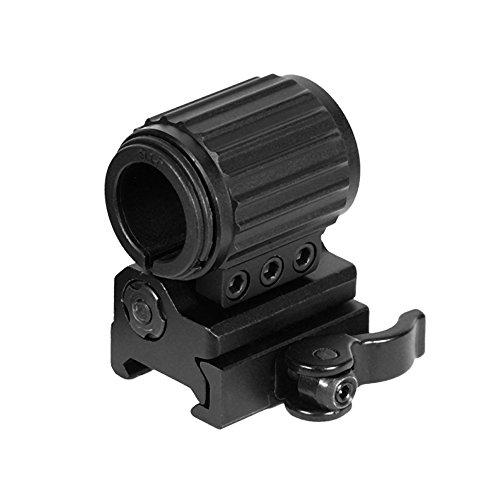 UTG Anneau tactique de montage Flip-to-Side pour Flashlight/Accessoires Fixation QD Mount Picatinny/Weaver Noir, RG-FL27QS