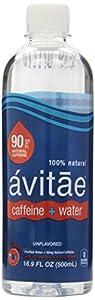 Avitae Caffeinated Water, 90 Mg, 16.9 Oz (Pack of 12)