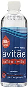 Avitae Caffeinated Water, 90 Mg, 16.9 Oz (Pack of 12)