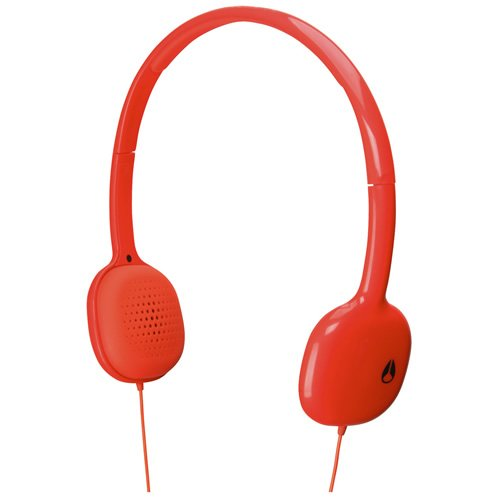 NIXON HEADPHONE: LOOP/ NEON ORANGE NH0221156-00