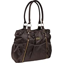 Hot Sale Carter's Zip Front Fashion Tote Diaper Bag (Brown)
