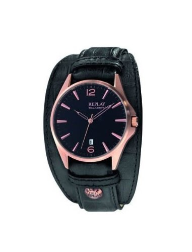 REPLAY Thunderbird RX8307NF Herrenuhr Quarz Leder
