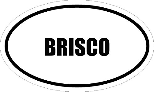 6-brisco-name-oval-euro-style-magnet-for-any-metal-surface