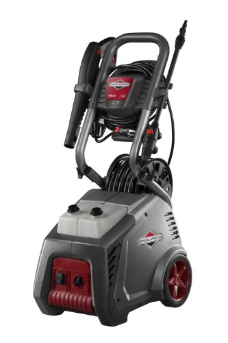 Briggs & Stratton 20559 Powerflow Plus 4.0-Gpm 1800-Psi Electric Pressure Washer With 7-In-1 Nozzle And Hose Reel