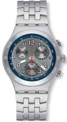 Swatch Irony Chrono Greyscale Unisex Watch YCS4046AG