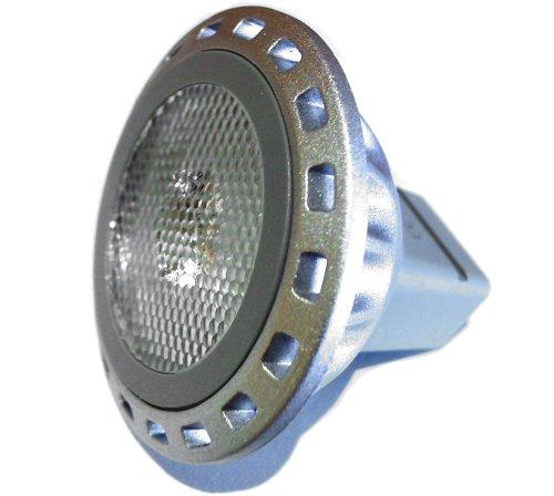Mr11 Gu4 Led Narrow 30 Degree 80 Lumen Warm White 2W Die Cast Lamp 12V Ac Dc