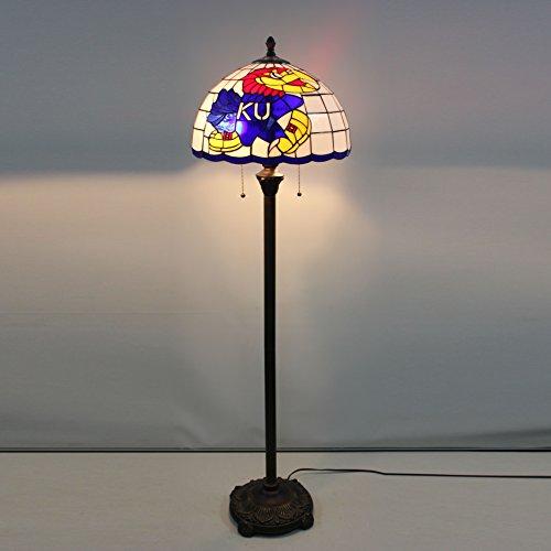 Kansas Jayhawks Tiffany Lamp, Jayhawks Tiffany Lamp