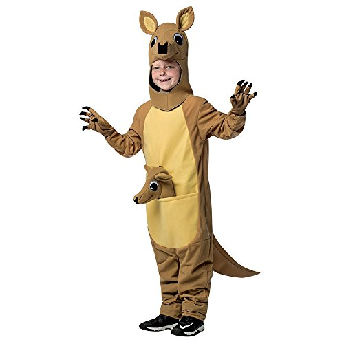 Child Kangaroo Mascot Halloween Costume