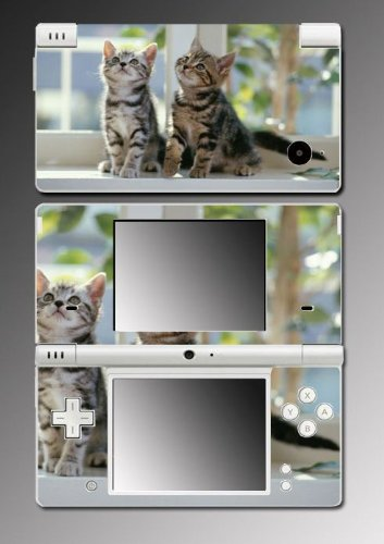 Cat Kitten Kitty Cute Pet Game Vinyl Decal Skin Protector Cover #2 for Nintendo DSi