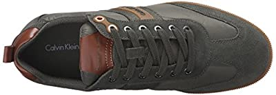 CK Jeans Men's Utah Sde/piuma Nyln/nap Fashion Sneaker
