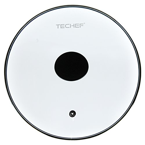 TeChef Cookware Tempered Glass Lid (12-Inch) (12 Pan Glass Lid compare prices)