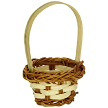 PacknWood 209BBRAI Rai Small Woven Bamboo Basket, 1.7-Inch Diameter (30 Packs of 10)