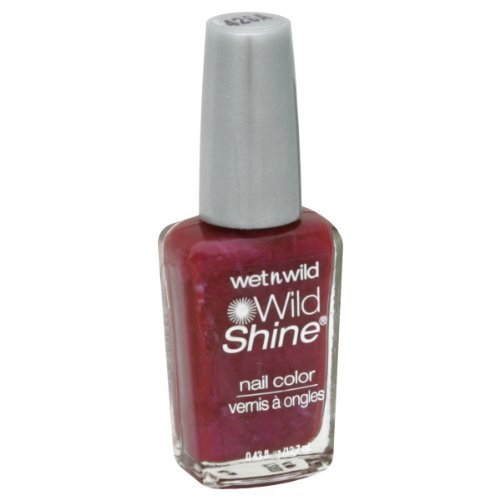 ウェットアンドワイルド WILD SHINE NAIL COLOR #426A FROSTED FUCHSIA