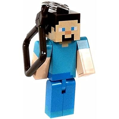Official Minecraft Exclusive Steve Toy Action Figure Hanger from U.C.C. / MOJANG