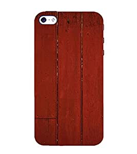 99Sublimation Wood 3D Hard Polycarbonate Back Case Cover for Apple iPhone 5S